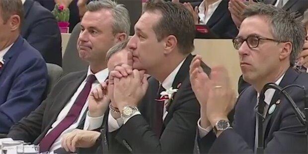 FPÖ applaudiert nicht bei Gedenken an Pogrome