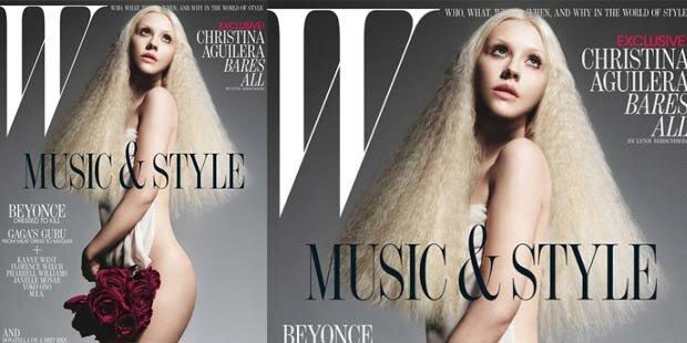 Christina Aguilera zieht jetzt blank