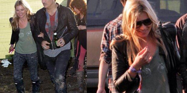 Glastonbury: Stars im Gatsch-Festival