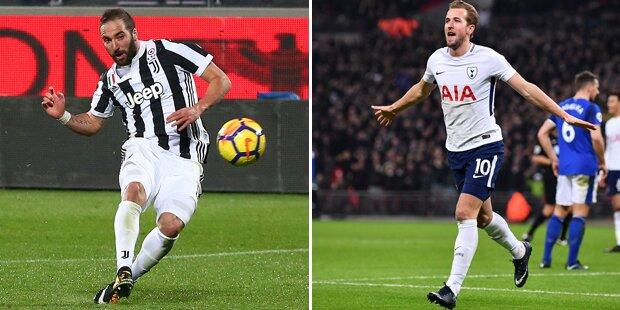 Showdown: Juventus kracht auf die Spurs