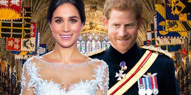 Meghan & Harry-Hochzeit: Skandale trüben letzte Woche