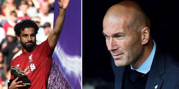 Hammer: Zidane will Salah zu Madrid holen