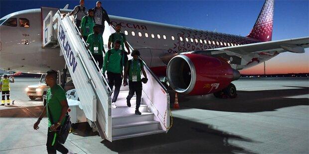 Jet des Saudi-Teams fing während Flug Feuer