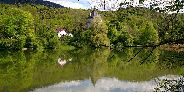 Salzburg: Hier trocknet ein ganzer See aus