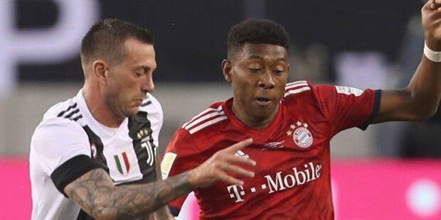 Alaba & Co. verlieren gegen Juventus