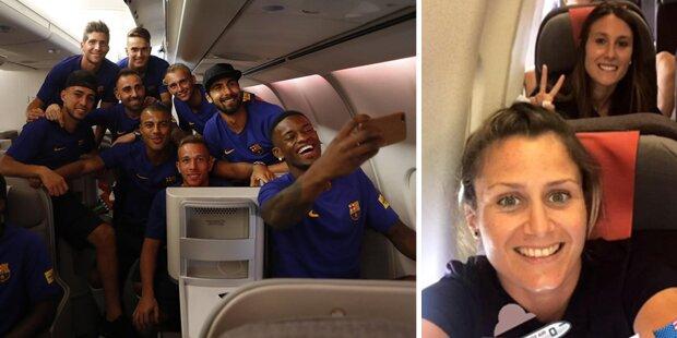 Bei Flug: Diskriminierung beim FC Barcelona?