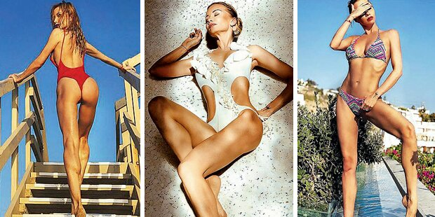 Karina Sarkissovas irre Bikini-Show