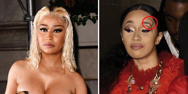 Rapperinnen-Krieg: Nicki Minaj & Cardi B prügeln sich
