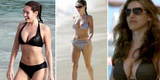 Kelly Brook macht im Bikini die beste Figur