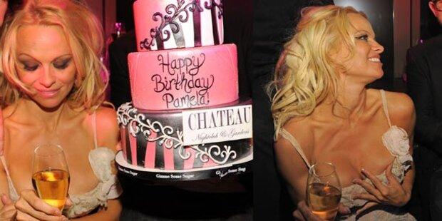 Pamela Anderson: Ihr flüssiger Geburtstag