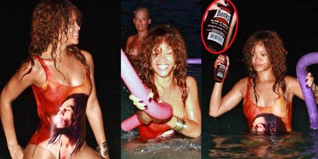 Rihanna: Wilder Party-Urlaub auf Barbados
