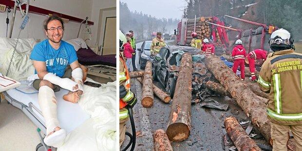 Tiroler überlebt Horror-Crash
