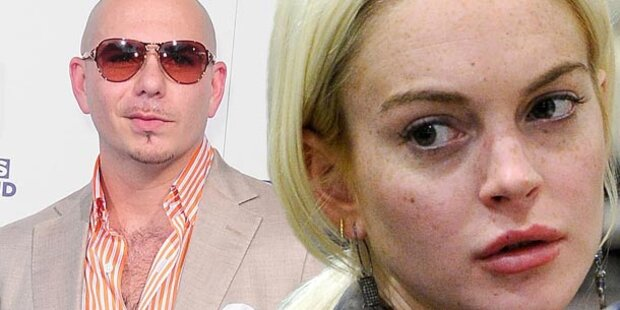 Lindsay Lohan klagt US-Rapper Pitbull