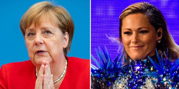 Österreicher bewundern Merkel mehr als Helene Fischer