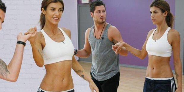 Elisabetta Canalis tanzt sich mager