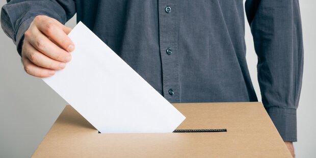 Wahlbeteiligung: Innerhalb einer Woche enormer Absturz