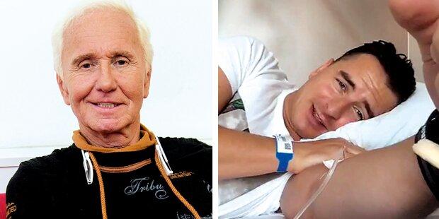 Spitals-Schock bei Austropop-Stars
