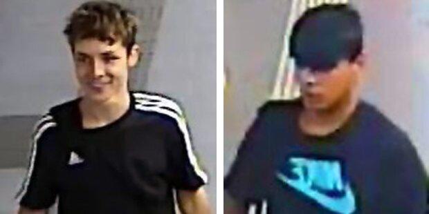 Brutaler Raub in der U1: Polizei sucht dieses Duo