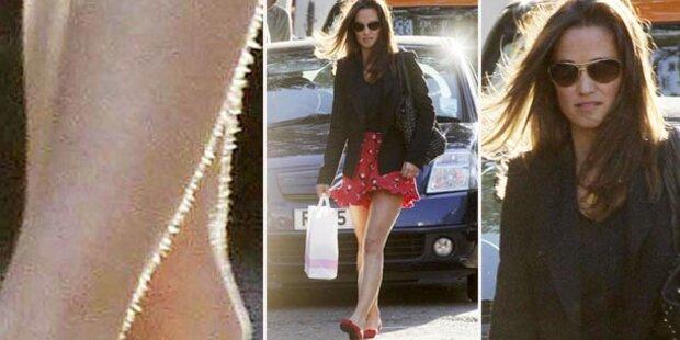 Pfui, Pippa Middleton: Unrasierte Beine