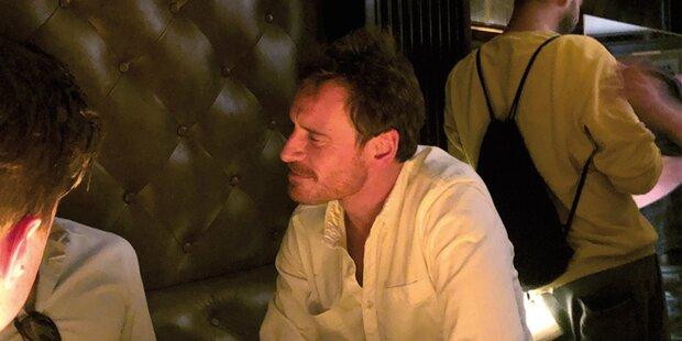 Fassbender: Party-Nacht in Wiener Bar