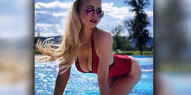 Sarkissova zeigt sich von ihrer heißen Seite