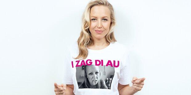 ''I zag di au'': Nina Prolls Mode-Aufreger