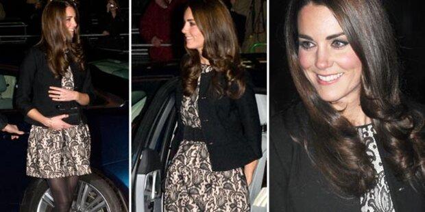 Kate: Versteckt sie ihren Babybauch?
