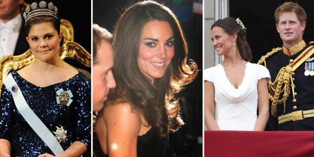 Was die Royals 2011 alles erlebten