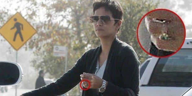 Halle Berry trägt Ring: Heimlich verlobt?