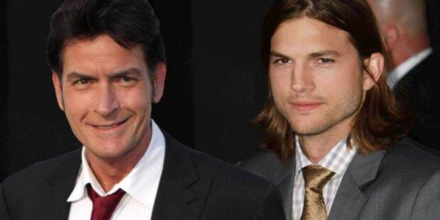 Sheen: Beeindruckt von Kutchers Sex-Skandal