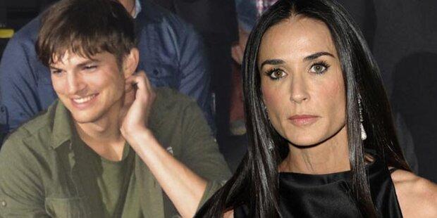 Demi Moore & Kutcher: Doch nur Freunde