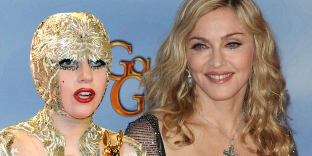 Madonna lässt Lady Gaga ausladen