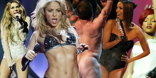 MTV EMAs: Die Nacht der nackten Tatsachen