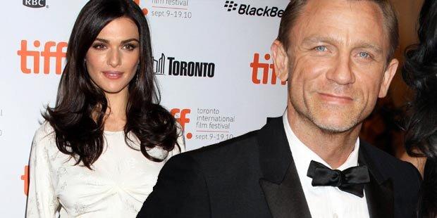 Bond-Star Daniel Craig turtelt fremd