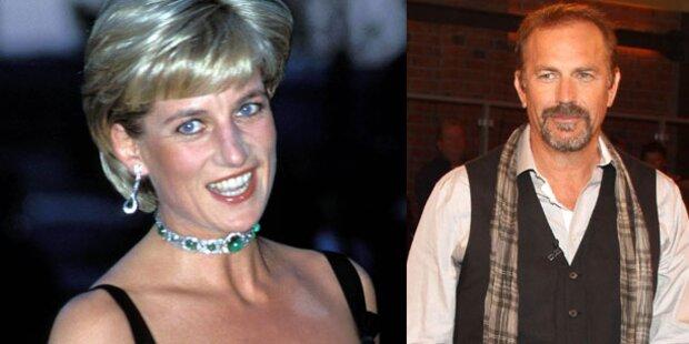 Kevin Costner: Diana wollte auf die Leinwand