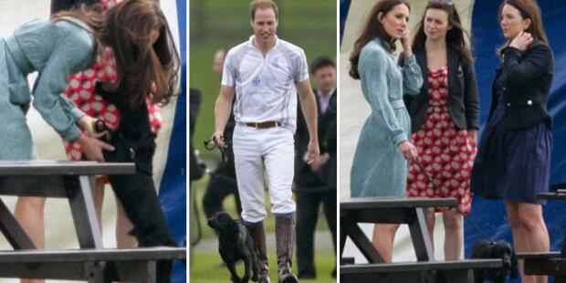 William und Kate: Ganz vernarrt in Lupo