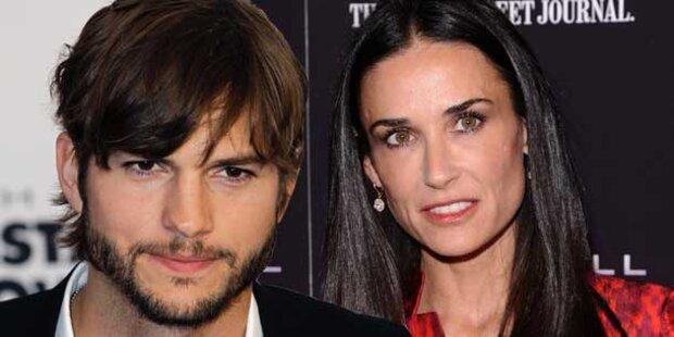 Zwei Frauen für Ashton Kutcher