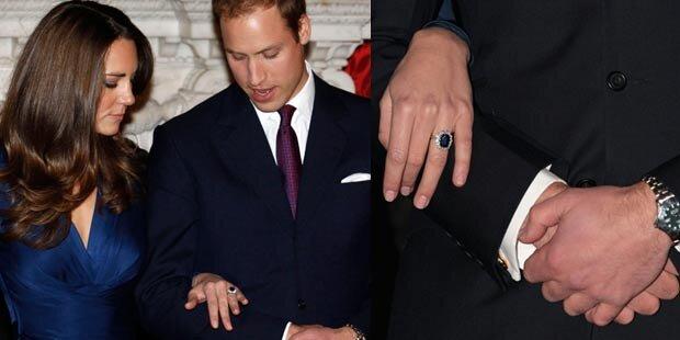 William trug Ring 3 Wochen mit sich herum