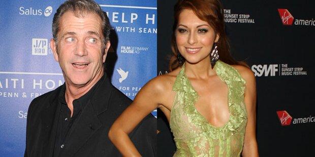 Mel Gibson: Dates mit sexy Italienerin