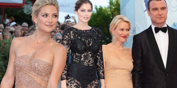 Hollywood stürmt Lido: Filmfest eröffnet