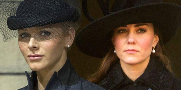 Charlene, Kate & Co.: Prinzessinnen-Zoff