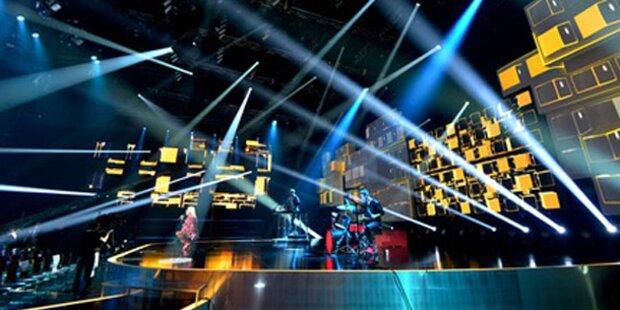 Song Contest: Die Reihung der Kandidaten