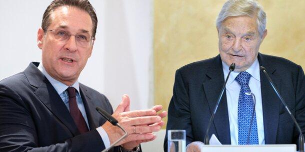 Soros-Universität: Strache kritisiert Übersiedlung nach Wien