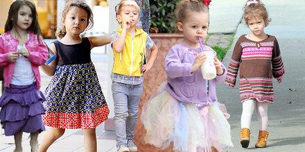 Hollywoods süße Mini-Fashionistas