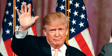 Trump legt in Umfrage sprunghaft zu