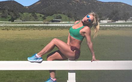 So hart arbeitet Britney an ihrem Hammer-Body
