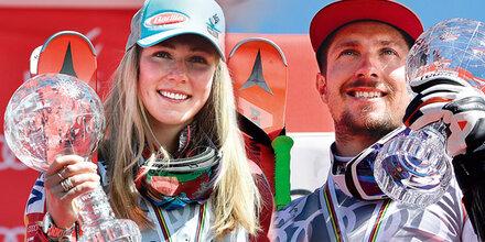 Klammer: Marcel & Mikaela sind meine Helden