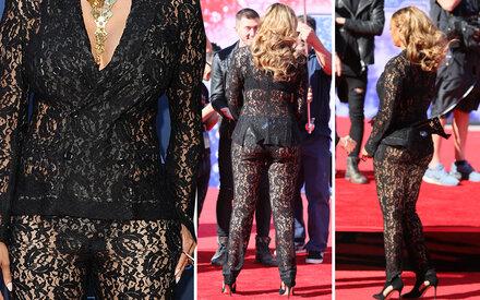Welchem Topmodel unterlief dieser Mode-Fauxpas?