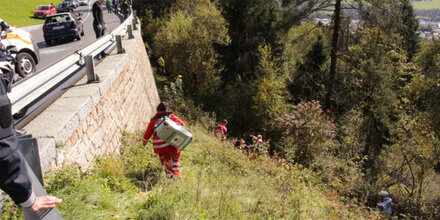 Horror-Crash in Tirol: Pkw kracht gegen Bus