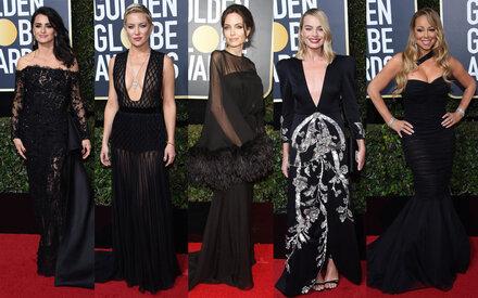 Black Carpet bei den Golden Globes